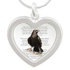 Edgar Allen Poe The Raven Poem Necklaces