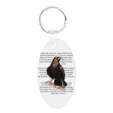 Edgar Allen Poe The Raven Poem Keychains