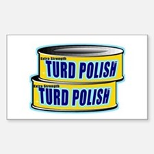 Turd Polish Rectangle Bumper Stickers