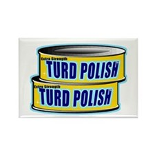 Turd Polish Rectangle Magnet