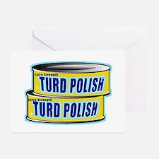 Turd Polish Greeting Cards (Pk of 10)
