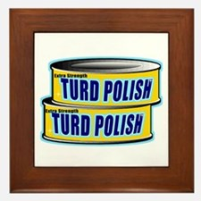 Turd Polish Framed Tile