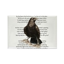 Edgar Allen Poe The Raven Poem Magnets