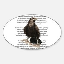 Edgar Allen Poe The Raven Poem Decal