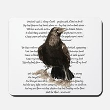 Edgar Allen Poe The Raven Poem Mousepad