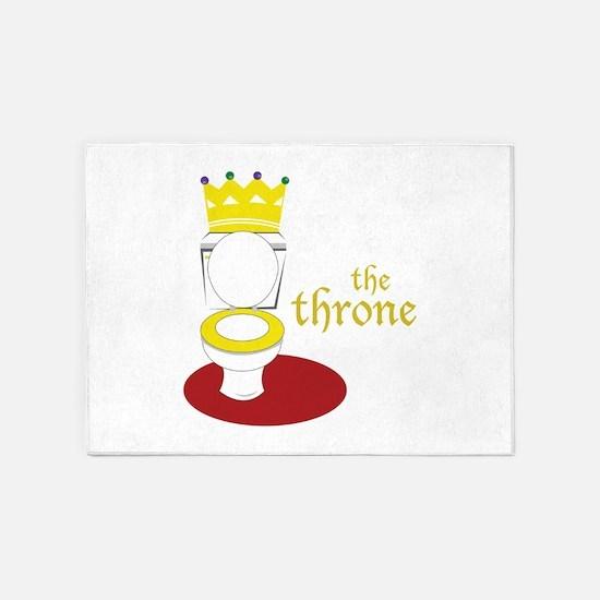 The Throne 5'x7'Area Rug