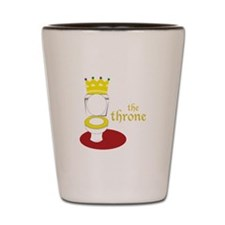 The Throne Shot Glass