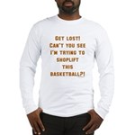 basketballthief Long Sleeve T-Shirt