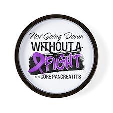 Cure Pancreatitis Wall Clock