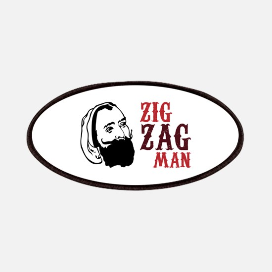 Zig Zag Man Patches