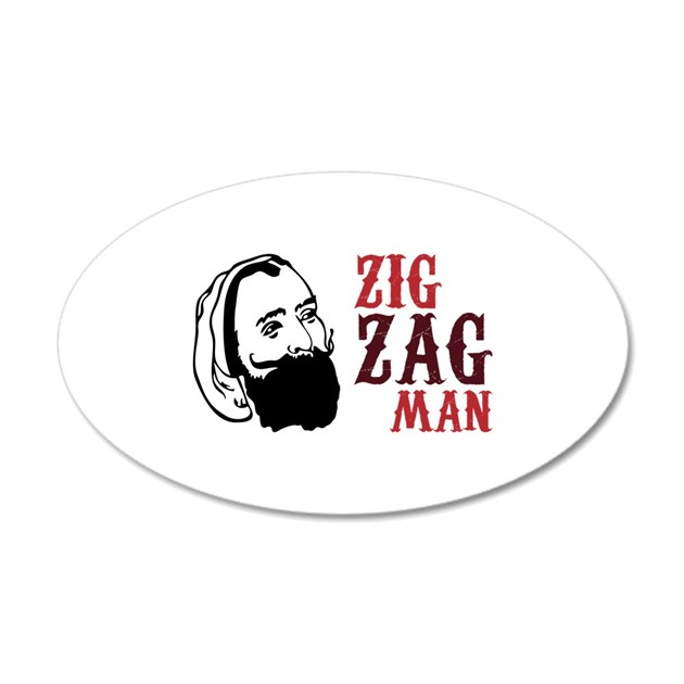 Zig Zag Man Wall Decal By Concord15