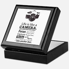 camera-grunge-quote Keepsake Box