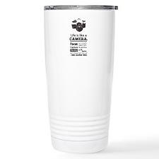camera-grunge-quote Travel Mug