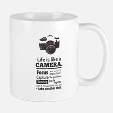 camera-grunge-quote Mugs