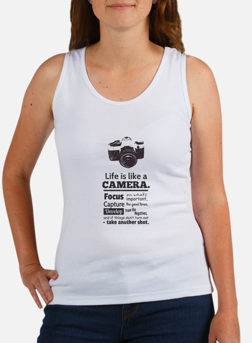 camera-grunge-quote Tank Top