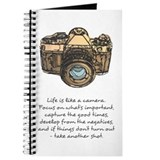 Camera Journals & Spiral Notebooks