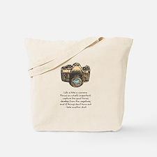 camera-quote-colour Tote Bag