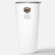 camera-quote-colour Travel Mug