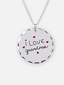 I Love Grandma Necklace
