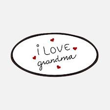I Love Grandma Patches