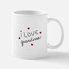 I Love Grandma Mugs