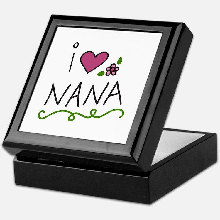 I Love Nana Keepsake Box