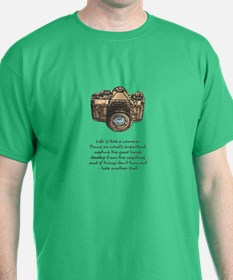 camera-quote-colour T-Shirt
