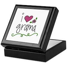 I Love Grama Keepsake Box
