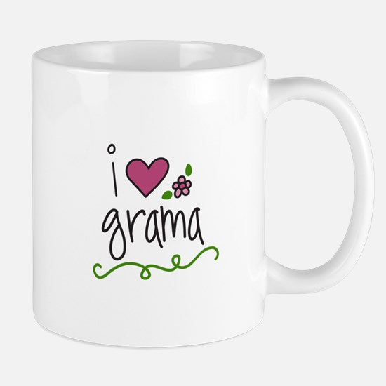 I Love Grama Mugs