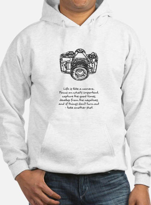 camera-quote Hoodie