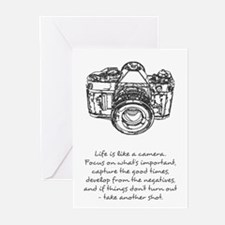 camera-quote Greeting Cards