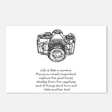 camera-quote Postcards (Package of 8)