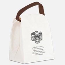 camera-quote Canvas Lunch Bag