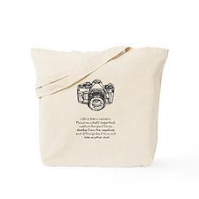 camera-quote Tote Bag