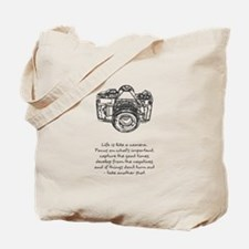 camera-quote Tote Bag