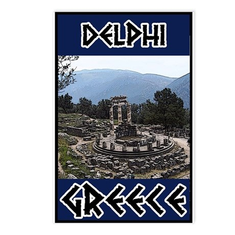 Delphi Oracle Postcards (Package of 8)