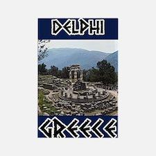 Delphi Oracle Rectangle Magnet