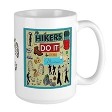 Hikers Coffee MugMugs