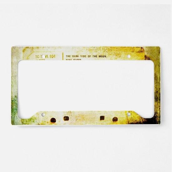 Dark side tape License Plate Holder