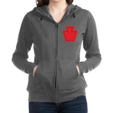 28TH Infantry Division.png Women's Zip Hoodie