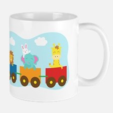 animal-train-T-shirt Mugs