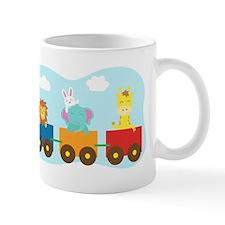 animal-train-T-shirt Mugs