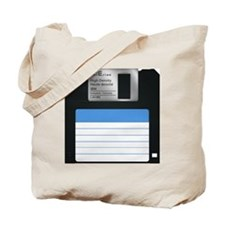 Floppy Disc Tote Bag