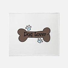 Dog Lover Throw Blanket