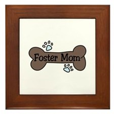 Foster Mom Framed Tile