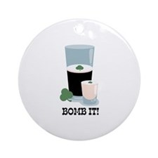 Bomb It! Ornament (Round)