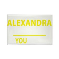 Funny Alexandra Rectangle Magnet