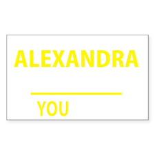 Cute Alexandra Decal