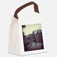Lonely Bike Polaroid Canvas Lunch Bag