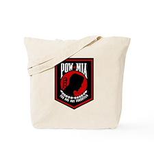 POW MIA (Red) Tote Bag